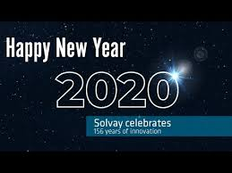 Happy New Year 2020 from Solvay Group - YouTube