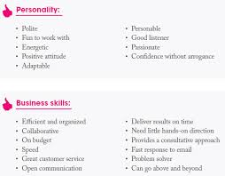 personality traits skills photo buyers don t want in a