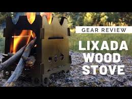 Gear Review - Lixada Wood Burning <b>Backpacking Stove</b> ...