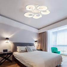 QLIGHA Ceiling Lights Postmodern LED Shell Shape ... - Amazon.com