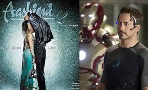 aashiqui 2 beats iron man at the box office aashiqui 2 beats iron man
