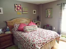 grey wall diy decor bed girls teenage bedroom