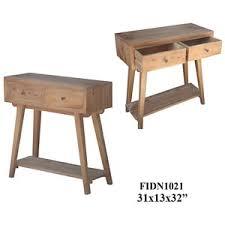"""31X13X32"""" <b>SOLID MINDI</b> WOOD <b>CONSOLE TABLE</b>, 1PC KD/ 3.27"""