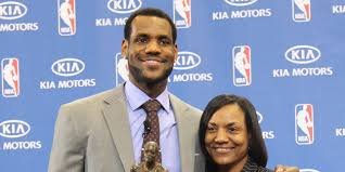 lebron james pens touching essay on being raised by a single mom  lebron james pens touching essay on being raised by a single mom
