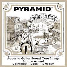 pyramid western folk bronze acoustic guitar strings set in three pyramid western folk bronze acoustic guitar strings set in three strengths