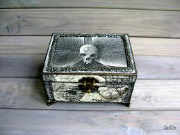 Tarot Card <b>Box</b>/<b>Box</b> for Tarot Cards/Tarot <b>box Skull</b> and Orhid/Case ...