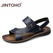 JINTOHO <b>Genuine</b> Leather Big Size Men Shoes <b>Fashion</b> Flat ...