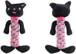 <b>1Pcs Dog</b> Squeaky Chew <b>Animal Toys</b>, Witspace <b>Puppy</b> Rope <b>Dog</b> ...
