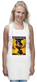 <b>Фартук She Can</b> Do <b>It</b> #1926553 от Jimmy Flash