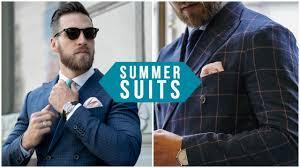 4 Ways To Wear <b>Suits</b> In Summer || <b>Men's</b> Fashion 2018 - YouTube
