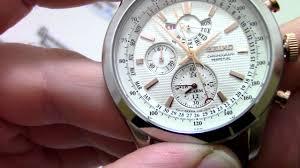 <b>Часы Seiko SPC129P1</b> - видео обзор от PresidentWatches.Ru ...