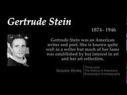 Gertrude Stein - Top 10 Quotes - YouTube