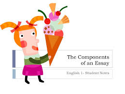the components of an essay english   student notes   ppt download the components of an essay english   student notes