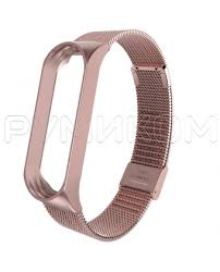 <b>Ремешок</b>-<b>браслет сетчатый металлический для</b> Mi Band 3 ...