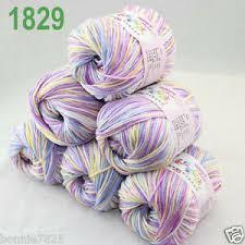 <b>Sale</b> 6 ballsx <b>50gr</b> DK Baby <b>Soft</b> Cashmere Silk Wool hand knitting ...