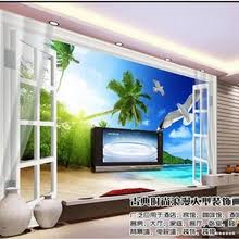 Buy <b>3d</b> wallpaper <b>sea view</b> window and get free shipping on ...