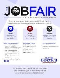 shawnee job fair shawnee chamber job fair shawnee oct 26