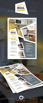 real estate flyer templates by grafilker graphicriver real estate flyer templates corporate flyers