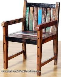 recycle boat wood chairs bt2 8 rustic wood furniture