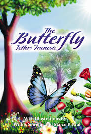 author showcase the butterfly by jethro francois the childrens while