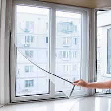 <b>Insect Mosquito Self-adhesive Window</b> Mesh Door Curtain Sale ...