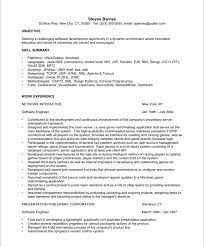 sample software resume objective   rgea    software engineer sample resume objective with skill summary and work experience  sample