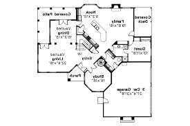 Spanish Style House Plans   Stanfield     Associated Designs    Spanish Style House Plan   Stanfield     st Floor Plan