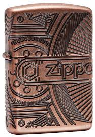 <b>Зажигалка ZIPPO</b> Armor <b>Antique</b> Copper