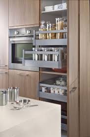 beech wood kitchen cabinets:  contemporary kitchen laminate beech wood veneer pinta k orlando k