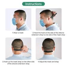 BESPORTBLE 5PCS <b>Mask Ear</b> Cord Extension Buckle <b>Adjustable</b> ...