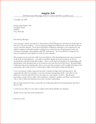 cover letter for pharmacist template cover letter for pharmacist