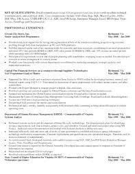 database programmer resume template database programmer resume