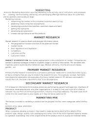 marketing marketing mix the document