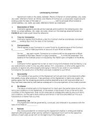 resume examples landscaping quote template best photos of resume examples best photos of printable landscaping contracts landscaping landscaping quote template