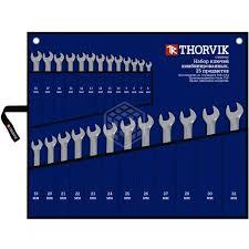 <b>Набор</b> комбинированных <b>гаечных ключей Thorvik</b> CWS0025, 6-32 ...