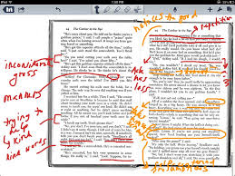annotating a text catcher in the rye english reading showme
