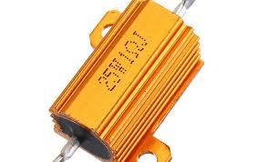 <b>3pcs RX24 25W</b> 1R 1RJ Metal Aluminum Case High Power Resistor ...