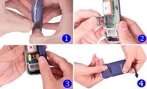 install gps unit gpsmartrack install the sim card