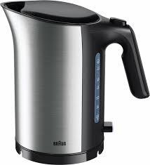 Купить электрический <b>чайник Braun WK</b> 5110BK, черно-серый по ...