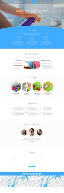 house cleaning web template