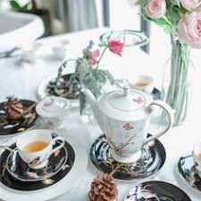 Фото Сервиз чайный Кобальтовая сетка, форма Купольная, 14 ...