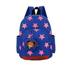 Flyingsky Durable <b>Five</b>-<b>Pointed</b> Star Bear Coin <b>Purse Backpack</b> for ...