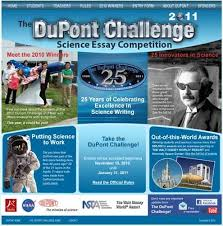 the dupont challenge science essay