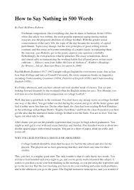 Long Essay Examples