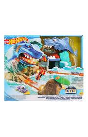 <b>Набор Hot Wheels</b> Shark Beach Battle MATTEL разноцветного ...