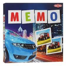 Купить <b>настольную игру Tactic Games</b> Мемо Транспорт 2 41442 в ...