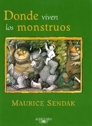 Resultado de imagen para Donde viven los monstruos de Maurice Sendak
