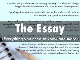 the essay by sidney jones jr the essay