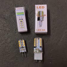 10Pcs/Lot SMD 2835 <b>LED G4</b> G9 <b>LED</b> Light Bulb DC12V 360 ...