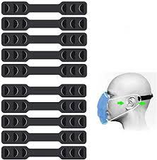 10Pcs <b>Mask Band</b> Extender, Buckle Ear Protector <b>Belt</b> Clip Cord ...